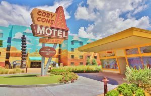 Cozy Cone Motel Art of Animation
