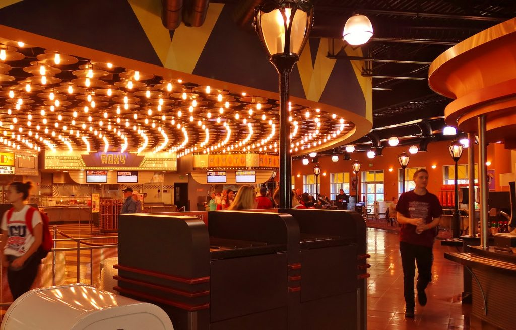 All-Star Movies quick service food court.
