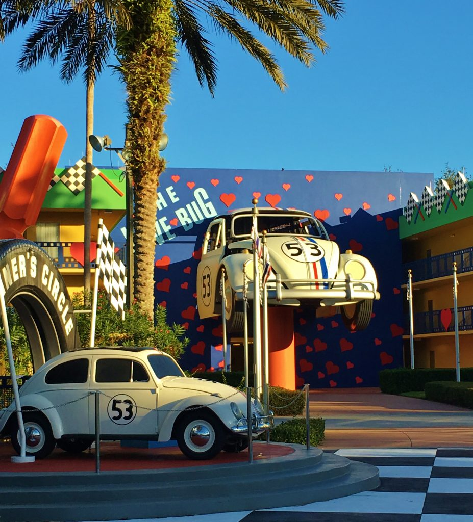 All-Star Movies Herbie building.