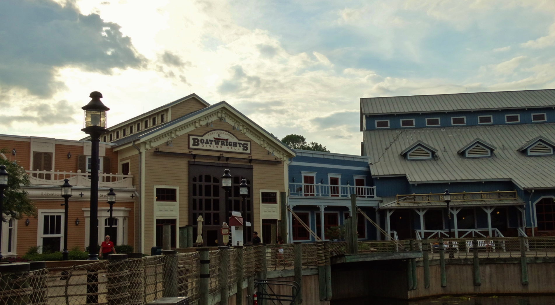 Photo of Port Orleans Riverside Dock